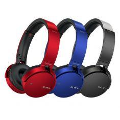 索尼(SONY)MDR-XB650BT 重低音无线蓝牙立体声耳机(声音密闭设计带来优异的隔音效果,产生深邃低音和紧实的低频响应。)